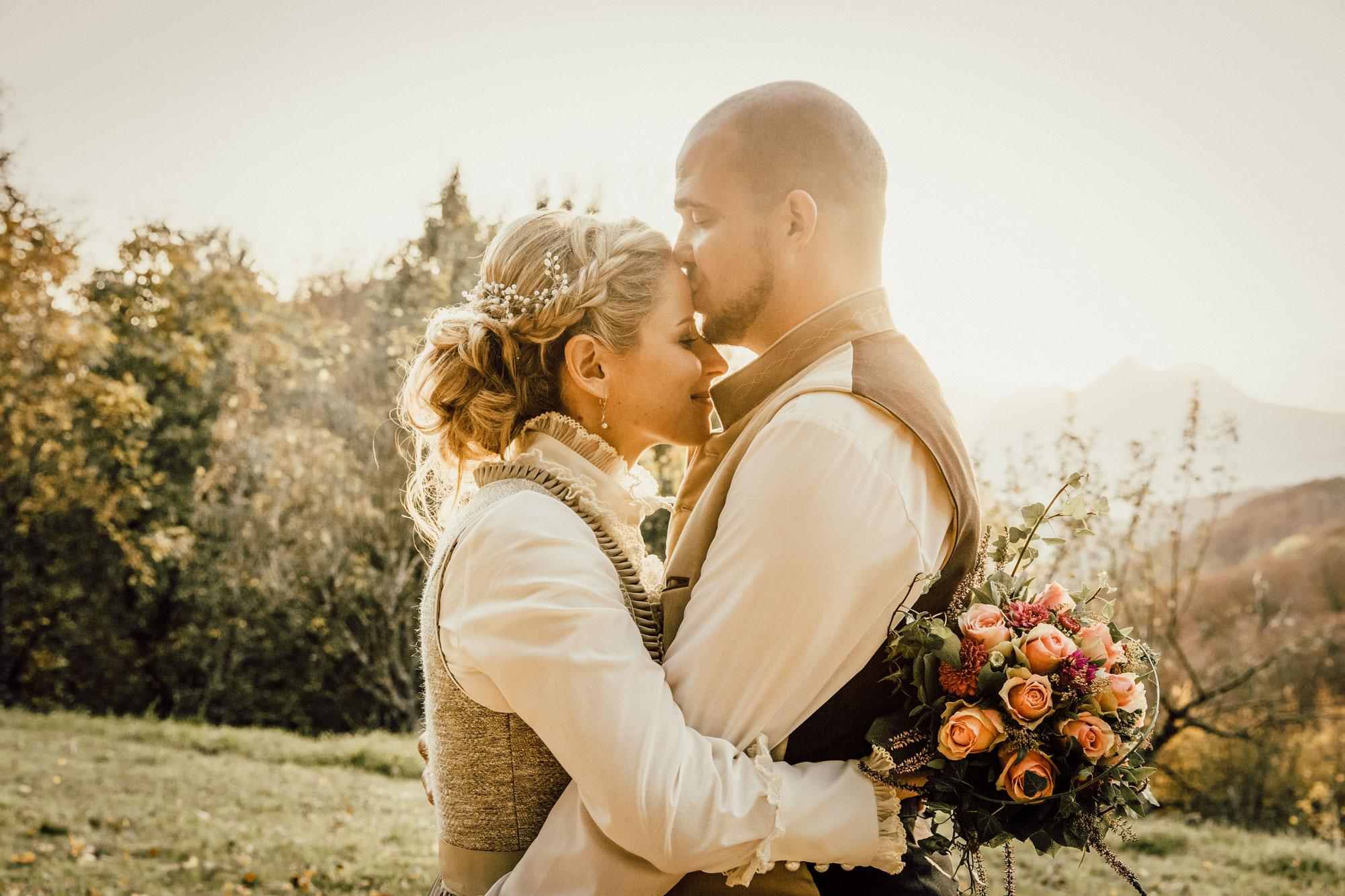 Sonne Hochzeitsfotograf Salzburg