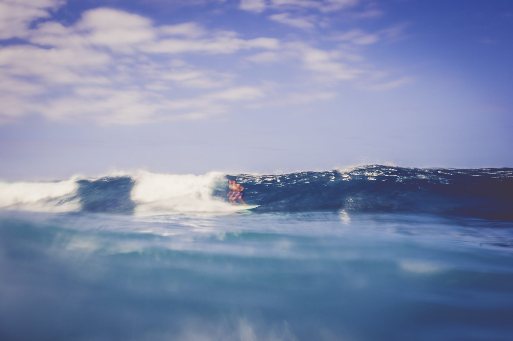 Surfer in Hawaii